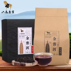 八马茶业 云南金普洱茶叶 熟普袋装黑茶250克