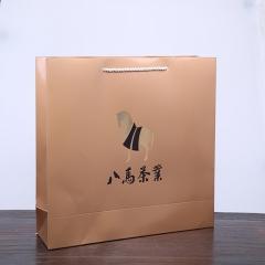 八马茶业 通用手提袋5号金色(2015)