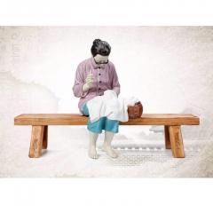 八马茶业    问孝慈母雕塑