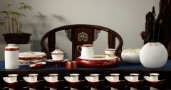 八马东湖之光40头茶具