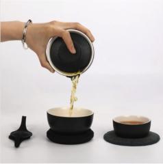 八马茶业 泡泡便携式茶具
