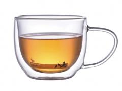 200ml双层玻璃茶杯