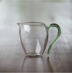 怡然绿金玻璃公杯