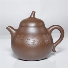 文人摹古 - 玉成窑匏瓜紫砂壶
