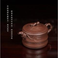 致敬大师 - 可心竹段紫砂壶