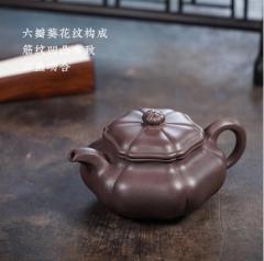 经典传统 - 葵仿古紫砂壶