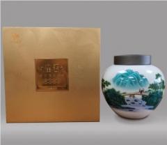 雀舌绿茶250克瓷罐礼盒装【 22号起厂家直供,1箱(4盒)起包邮,少于1箱快递到付】