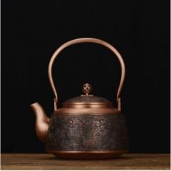 唐韵紫铜壶