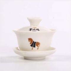 赛珍珠瓷器盖碗