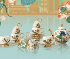 幸福礼·幸福和鸣  18头多用茶具,见圳幸福