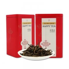 九州信禾 红茶茶叶 滇红 红毛尖 100g/罐